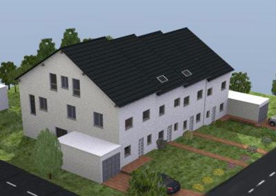 4 Reihenhäuser in Bretten-Diedelsheim